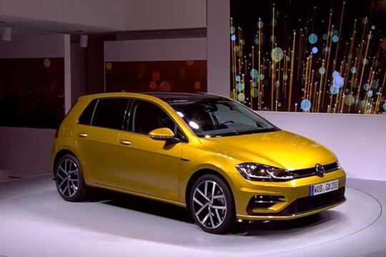 VW Golf 7 Präsentation