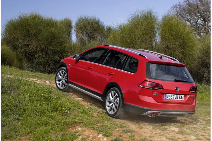 VW Golf Alltrack im Fahrbericht: Kann der Golf jetzt auch ...