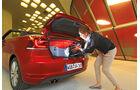 VW Golf Cabrio 1.4 TSI, Kofferraum, Ladevorgang