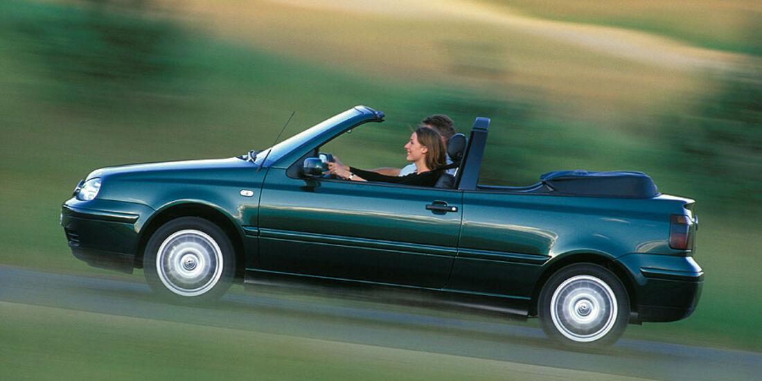 VW Golf Cabrio Baujahr 2002