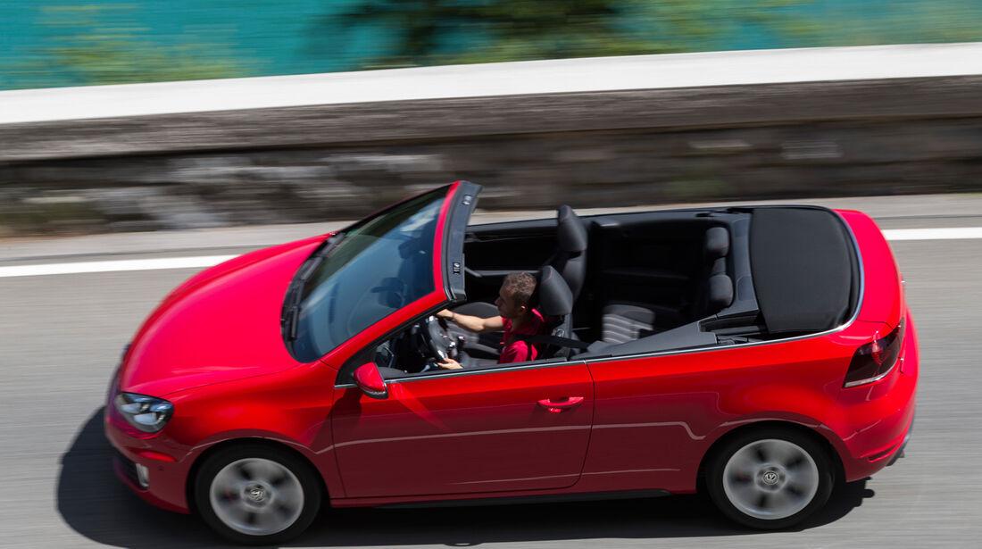 VW Golf Cabrio, Draufsicht