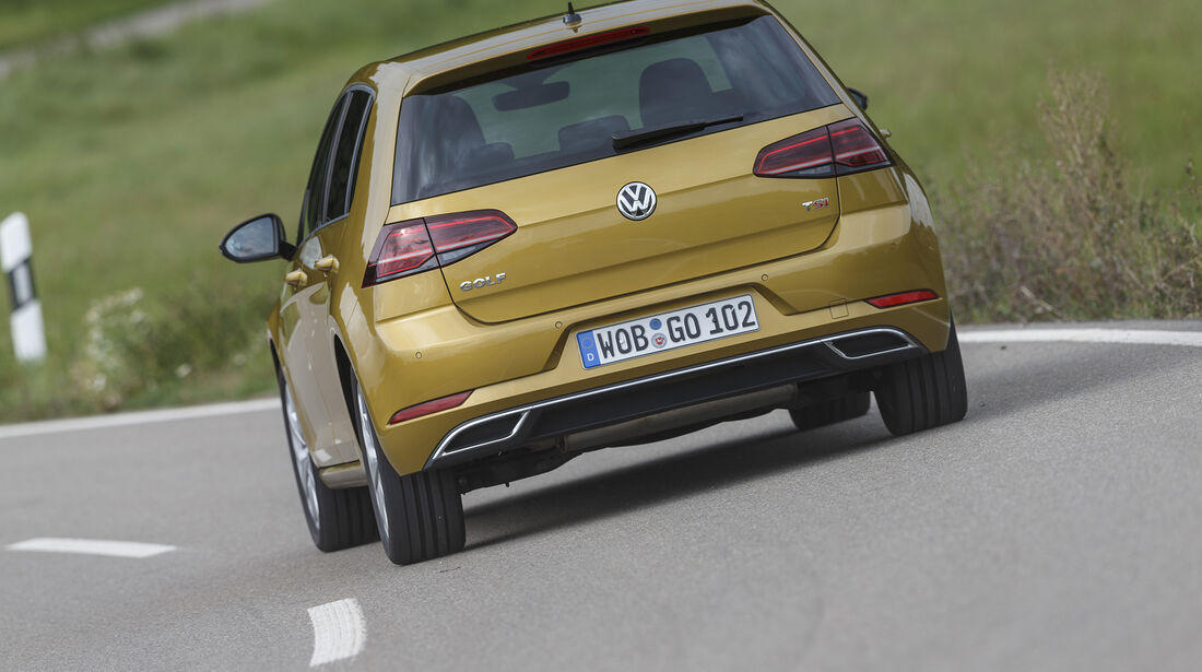 VW Golf Exterieur Heck