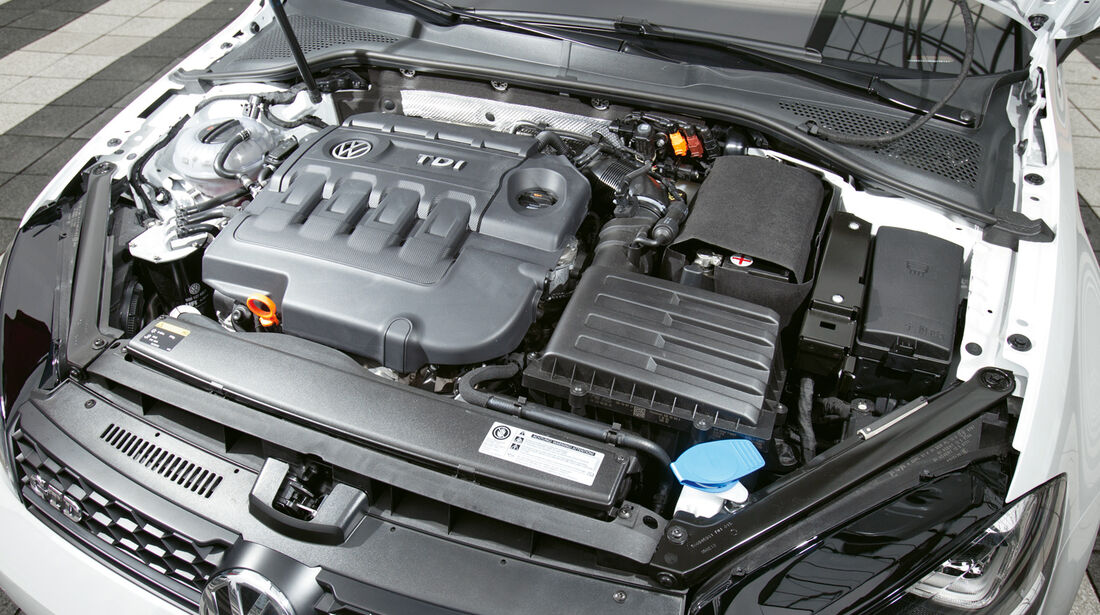 VW Golf GD, Motor
