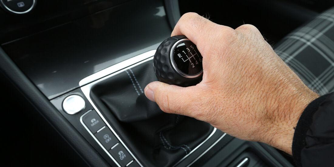 VW Golf GTI Performance, VW Golf GTD, Schalthebel