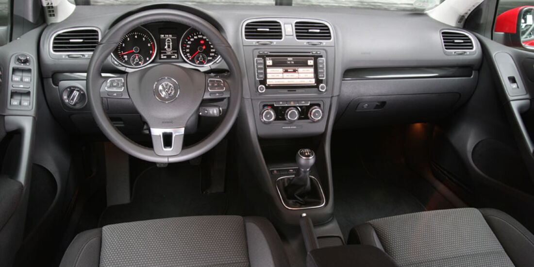 VW Golf, Innenraum, Cockpit