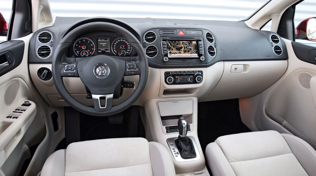 VW Golf Plus 1.4 TSI, Cockpit