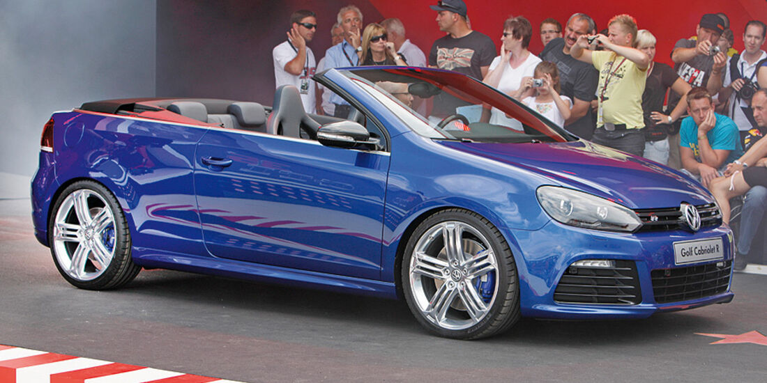 VW Golf R Cabrio Studie Wörthersee