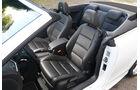VW Golf R Cabriolet, Sitze