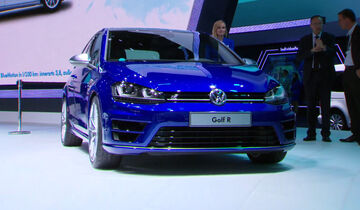 VW Golf R, IAA