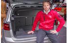 VW Golf Sportsvan, Sitzprobe