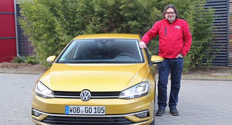 Vw Golf Vii Facelift Unterwegs Mit Dem Neuen 15 Liter Motor Auto