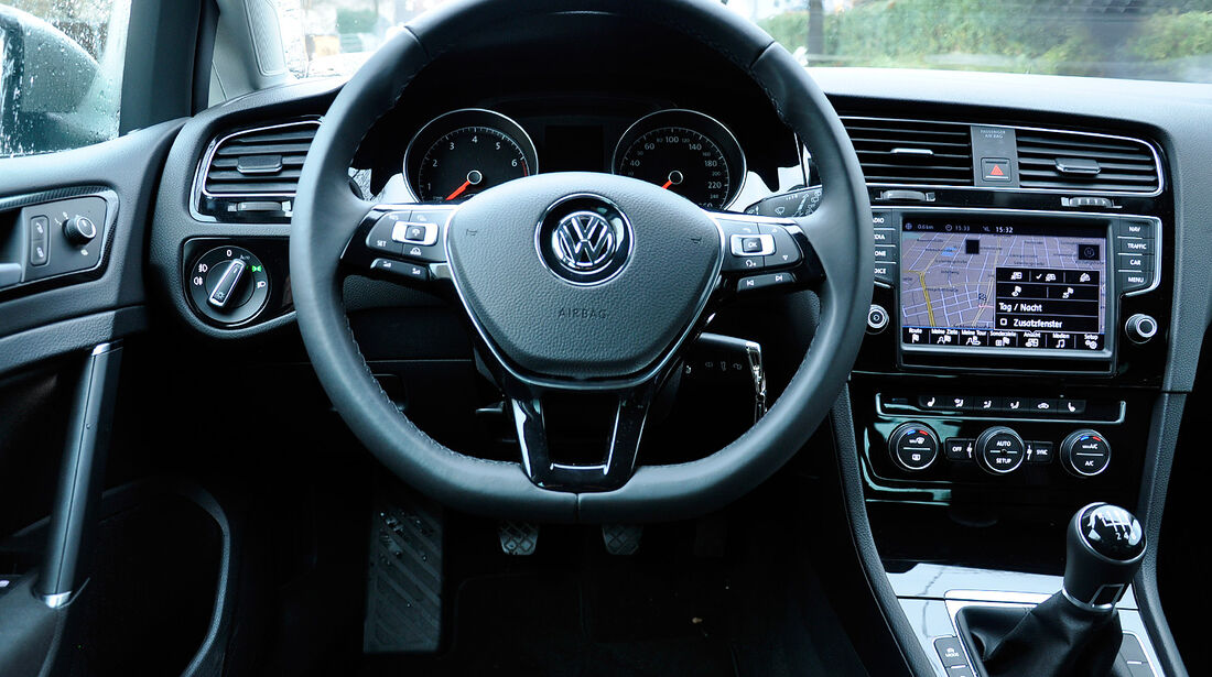 VW Golf VII, Innenraum, Cockpit