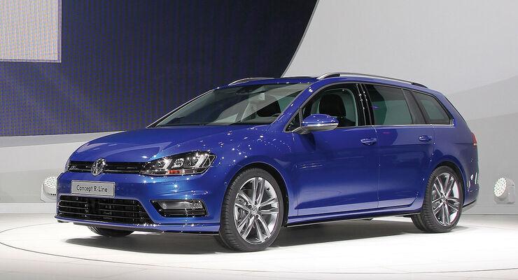 VW Golf Variant R-Line Concept