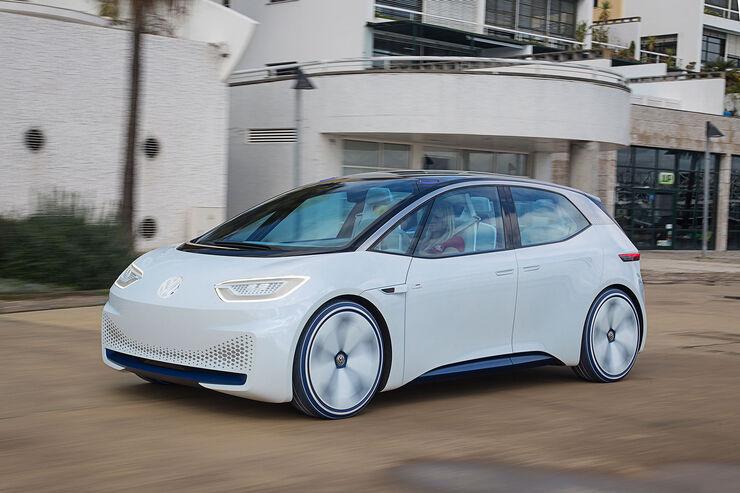VW I.D. im Fahrbericht: So fährt Volkswagens Elektro ...