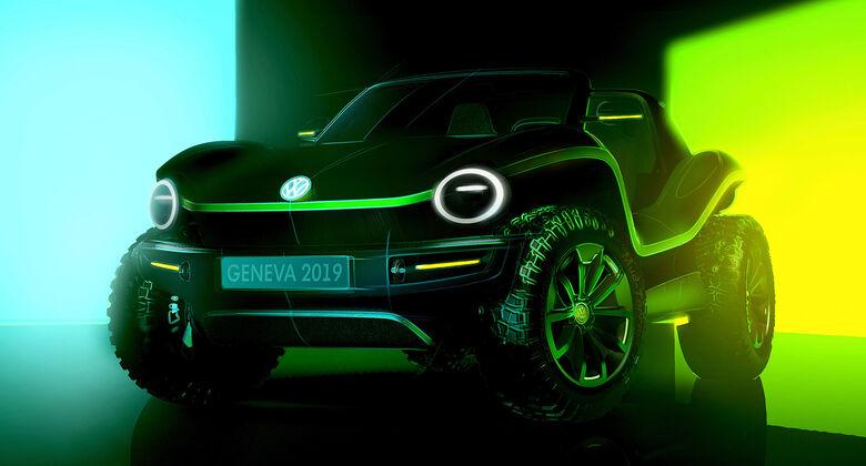 VW ID. Buggy genf 2019 Skizze