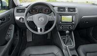 VW Jetta 1.6 TDI, Cockpit