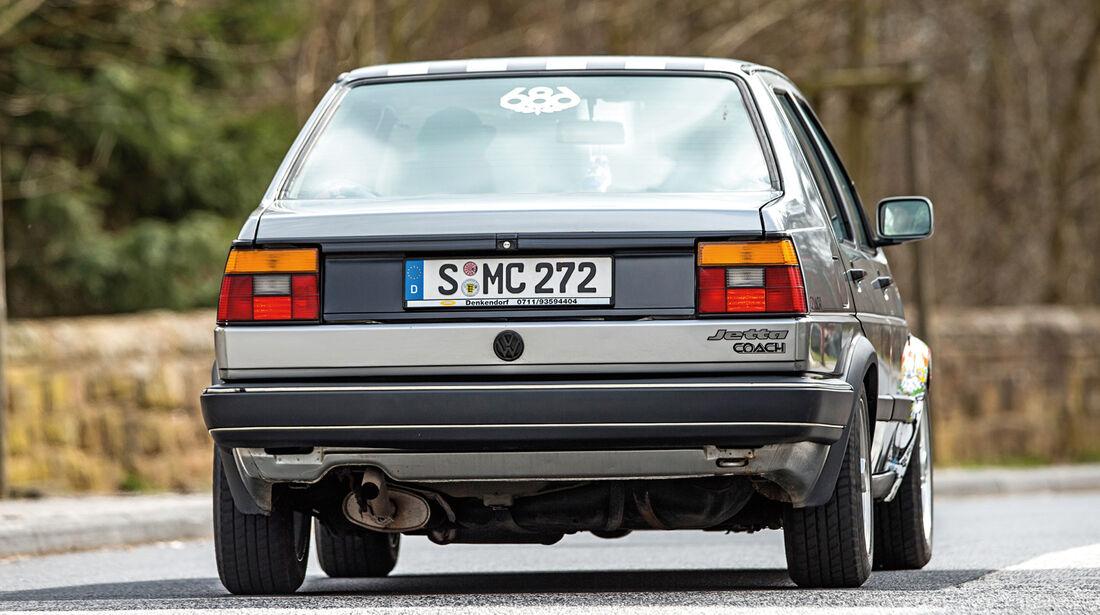 VW Jetta 1.8, Heckansicht