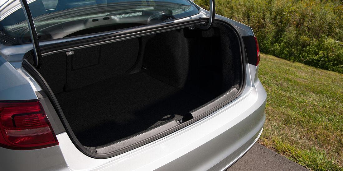 VW Jetta 2014, Kofferraum