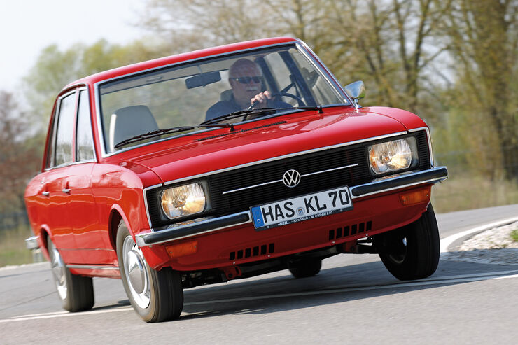 VW K 70, Frontansicht