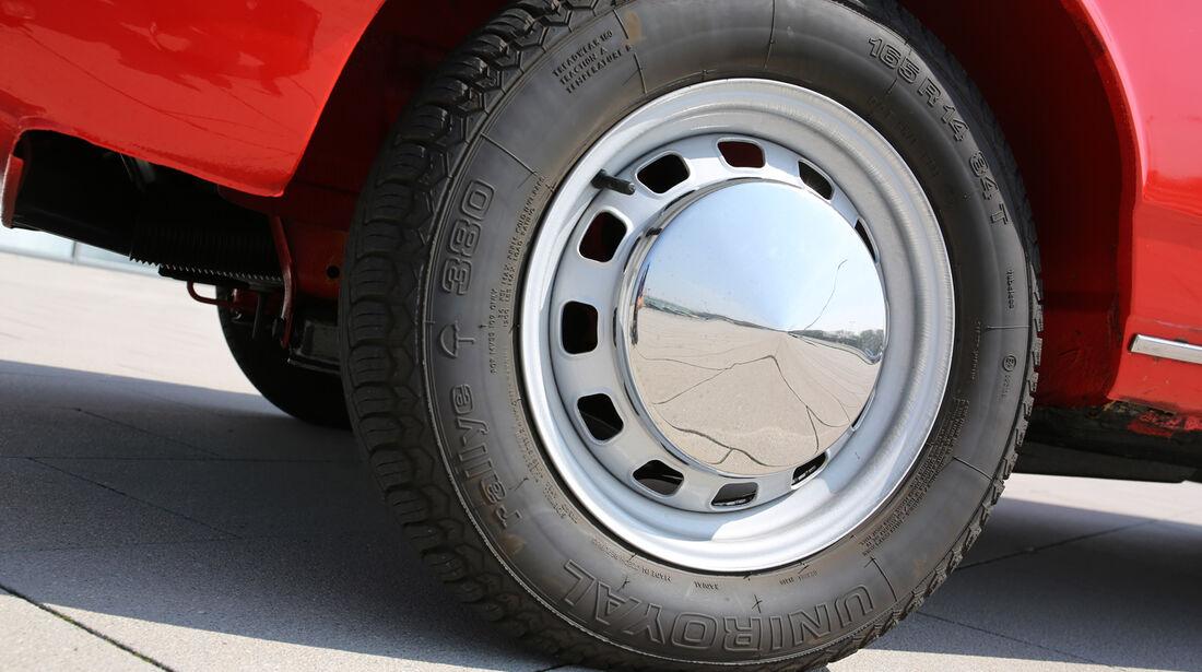 VW K 70, Rad, Felge
