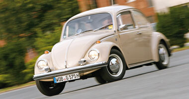 VW Käfer, Frontansicht