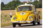 VW Käfer, Pannenfahrzeug, ADAC, Frontansicht
