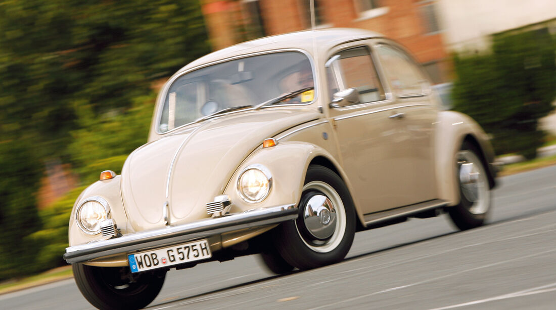 VW Käfer, Seitenansicht