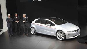 VW-Konzernabend, Genfer Autosalon 2011, VW Giugiaro-Studie, VW Coupé