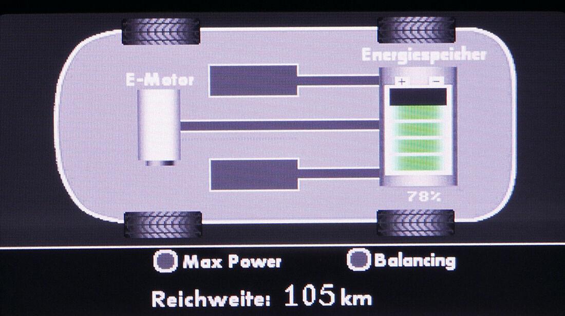 VW Lavida Blue-E-Motion, Elektro, Cockpit, Energiemanagement