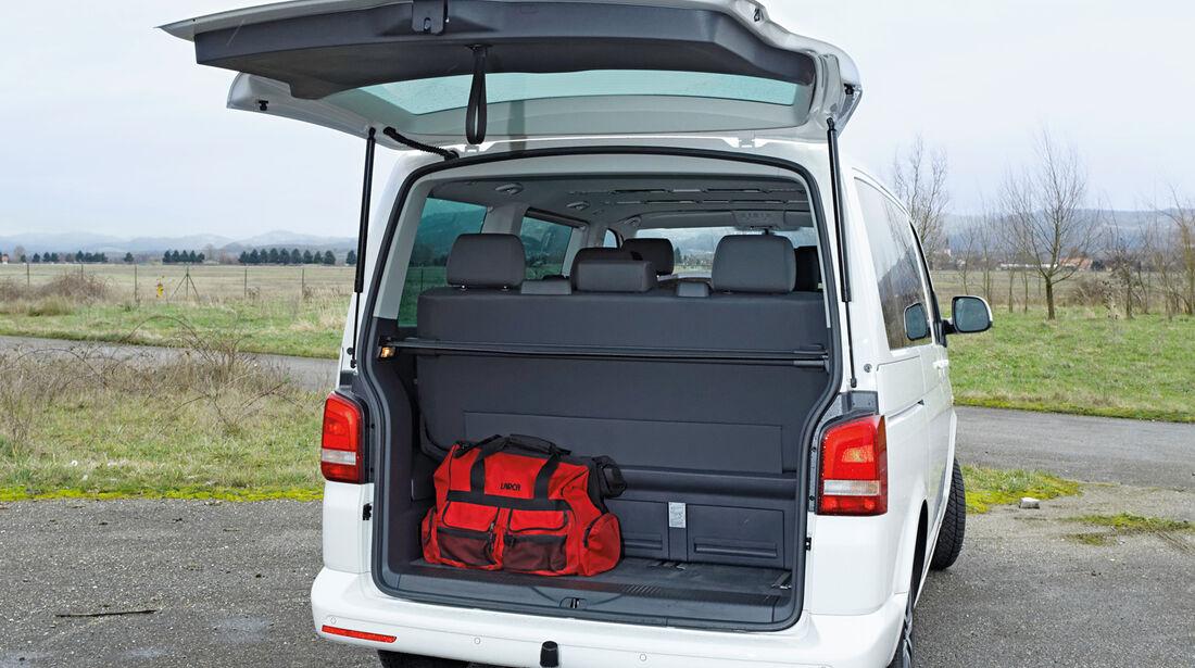 VW Multivan 2.0 BiTDI, Kofferraum