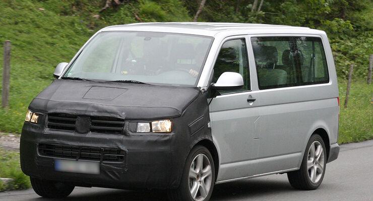 VW Multivan T5 Erlkönig