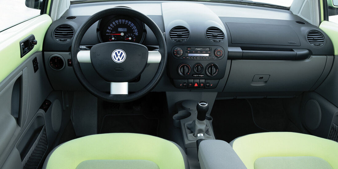 VW New  Beetle, Interieur