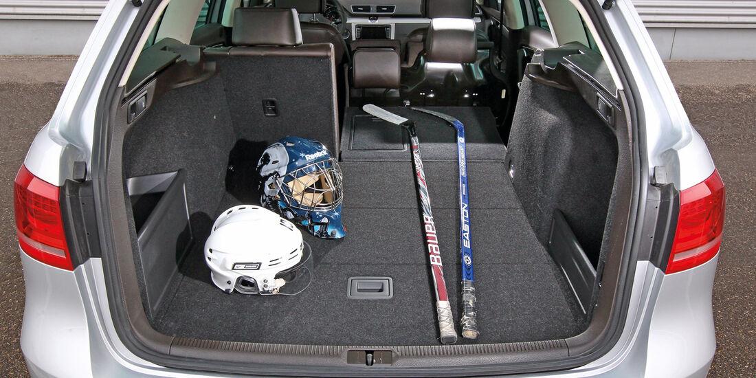 VW Passat 2.0 TDI BMT, Kofferraum, Ladefläche