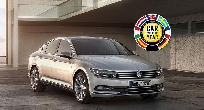 VW Passat Car of the Year 2015