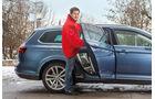 VW Passat Variant 2.0 TDI 4Motion Highline, Einsteigen