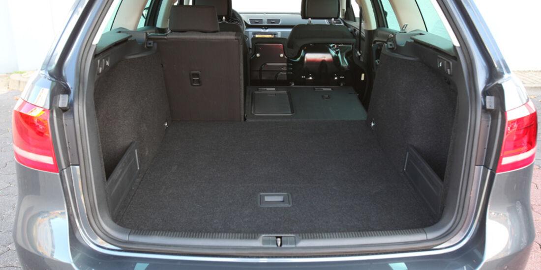 VW Passat Variant, Kofferraum
