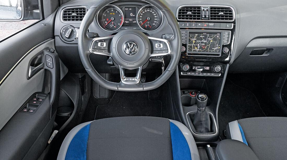 VW Polo Blue GT, Cockpit