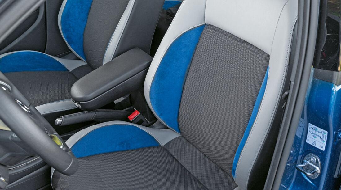 VW Polo Blue GT, Fahrersitz