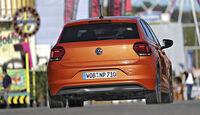 VW Polo, Exterieur Heck