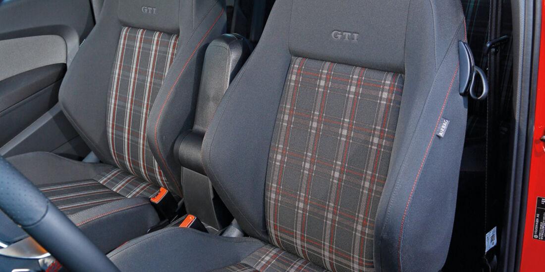 VW Polo GTI, Fahrersitz