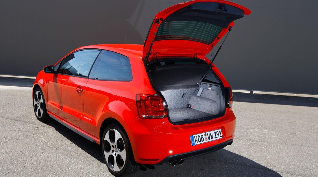 VW Polo GTI, Heckklappe, Kofferraum