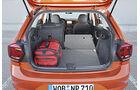 VW Polo, Kofferraum
