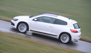 VW Scirocco 2.0 TSI, Seitenansicht