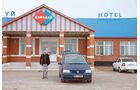 VW Sharan, Ganyushkino, Hotel