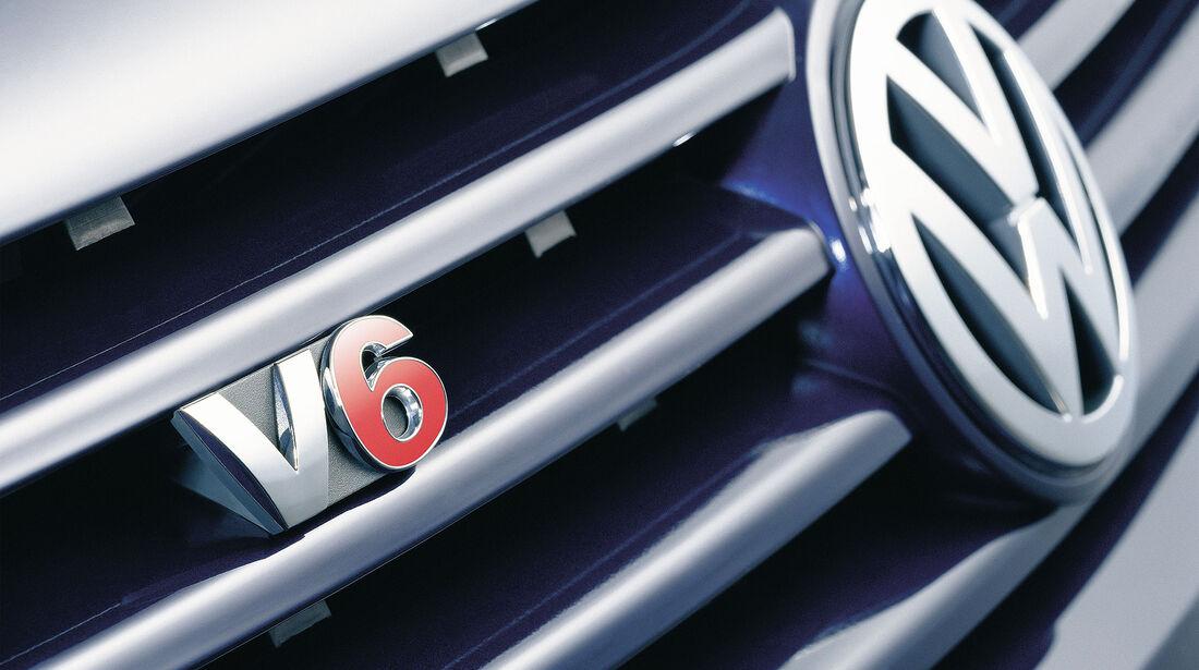 VW Sharan II V6 Logo