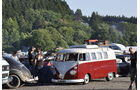 VW T1 Bus Camping