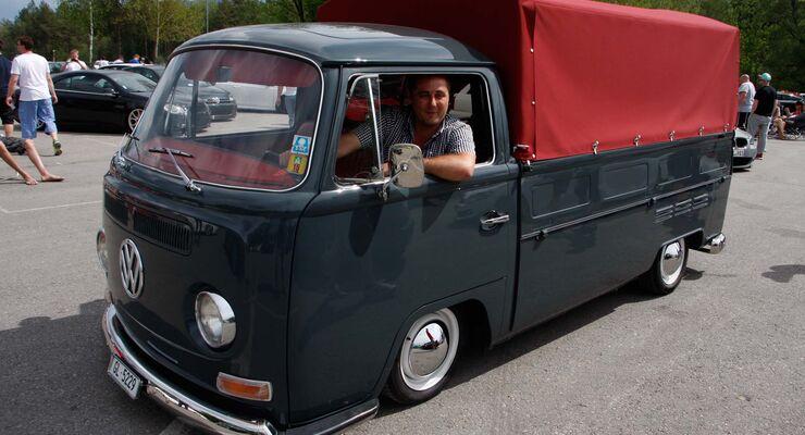 VW T2 Bulli, Camping, Wörthersee, GTI-Treffen