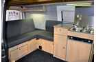 VW T5 Ausbauten, Werz, Caravan Salon 2014
