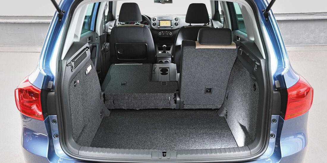 VW Tiguan 2.0 TDI BMT 4Motion, Kofferraum