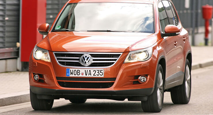 VW Tiguan 2.0 TDI Blue Motion Technology
